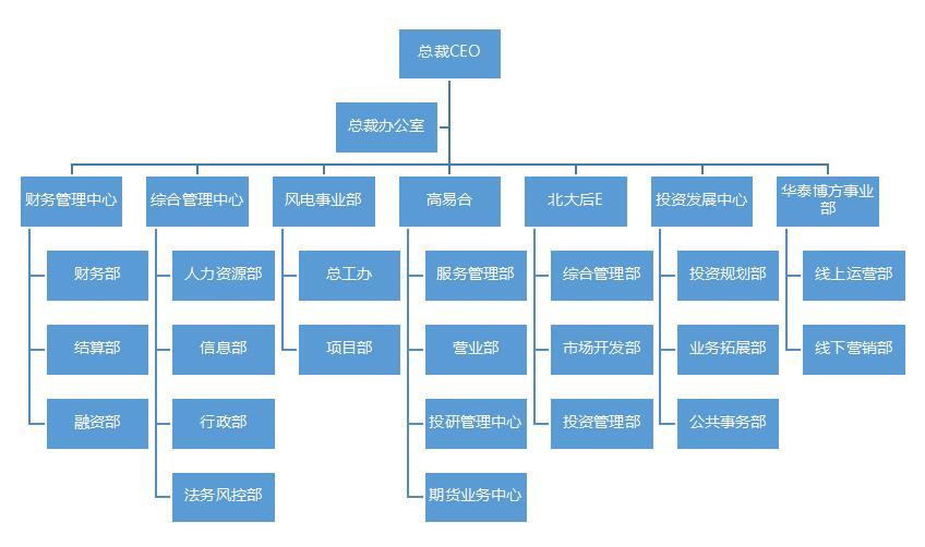 北京华泰中昊投资集团-组织架构