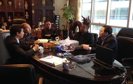 吉林省乾安县来访人员及华泰中昊集团接待人员